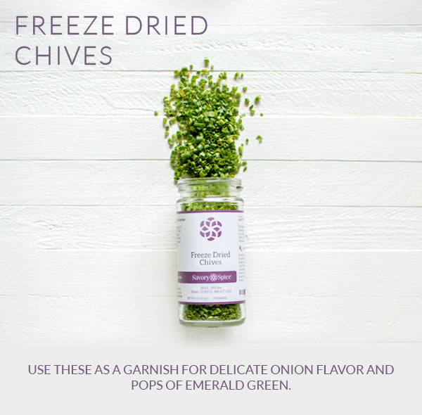 Freeze Dried Chives   Savory Spice