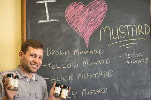Sam and his love for mustard