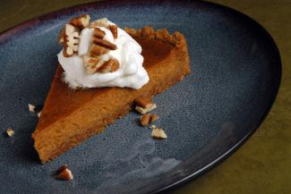 spiced pumpkin tart with chinese five spice