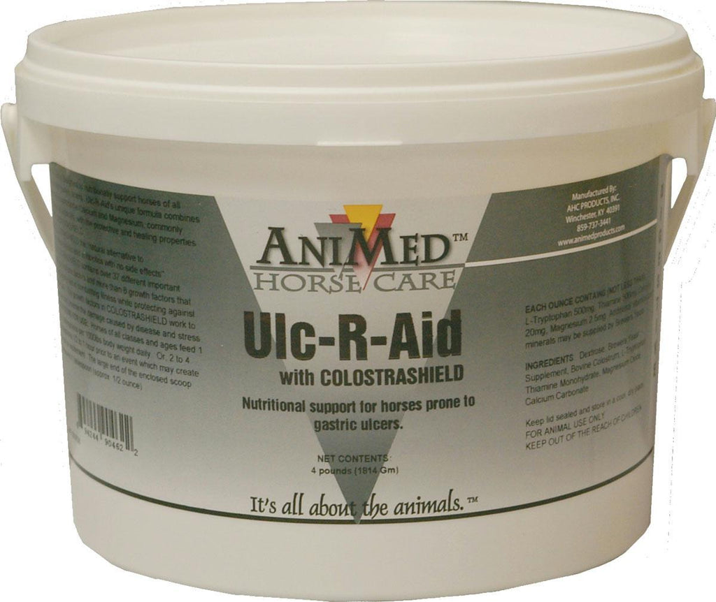 Ulc-r-aid Supplement With Colostrashield For Horse