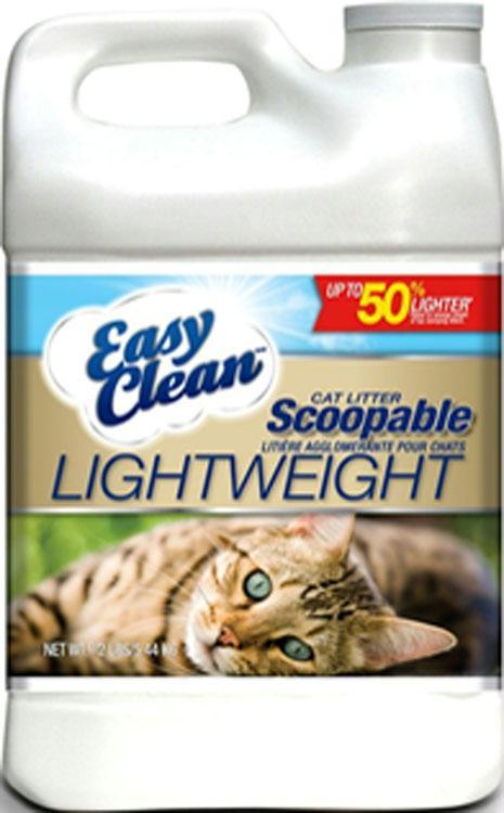 Easy Clean Lightweight Scoopable Cat Litter