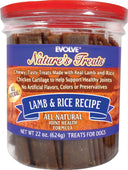 Evolve Nature's Treats Jerky Style Dog Treats