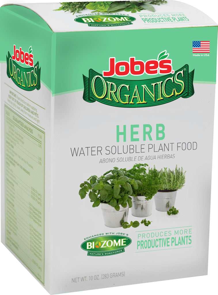 Jobe's Organics Herb Water Soluble Plant Food