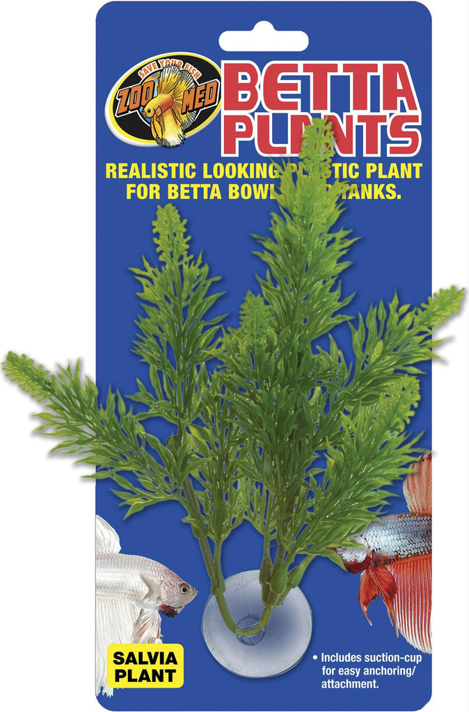 Betta Plastic Plant Salvia