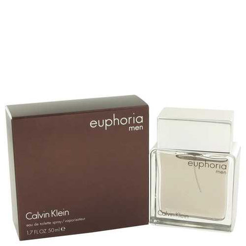 Euphoria by Calvin Klein Eau De Toilette Spray 1.7 oz (Men)