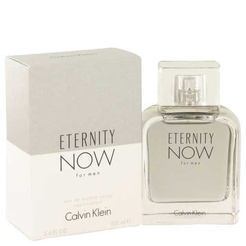 Eternity Now by Calvin Klein Eau De Toilette Spray 3.4 oz (Men)