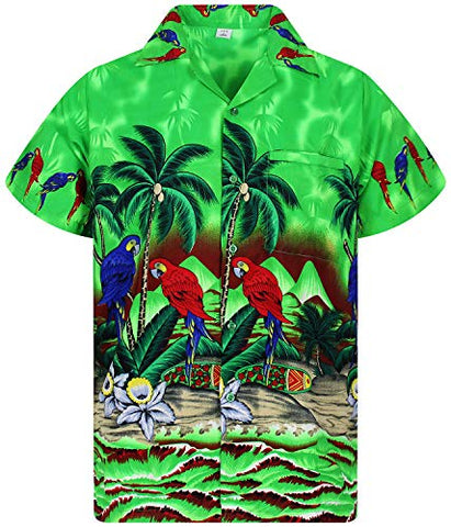 Funky Hawaiian Shirt, Shortsleeve