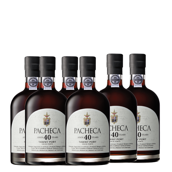 Pacheca Port Tawny 40 Years 50cl - (6x BOTTLES PACK - WITH FREE DELIVERY) - Quinta da Pacheca - Douro Valley