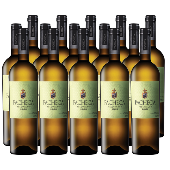 Pacheca Reserva White 2018 Douro D.O.C.(12X BOTTLES PACK - WITH FREE DELIVERY)
