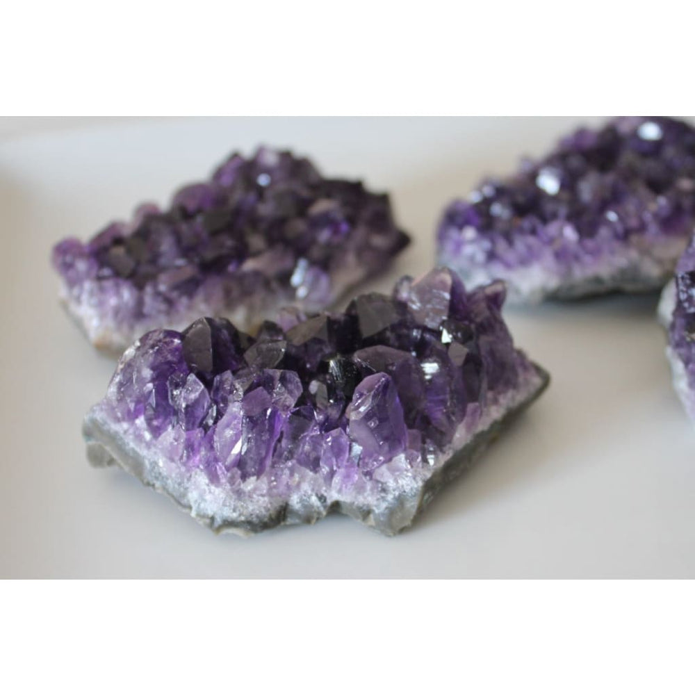 AMETHYST CLUSTER / Rough Natural Crystal / Protection - Natural Crystals