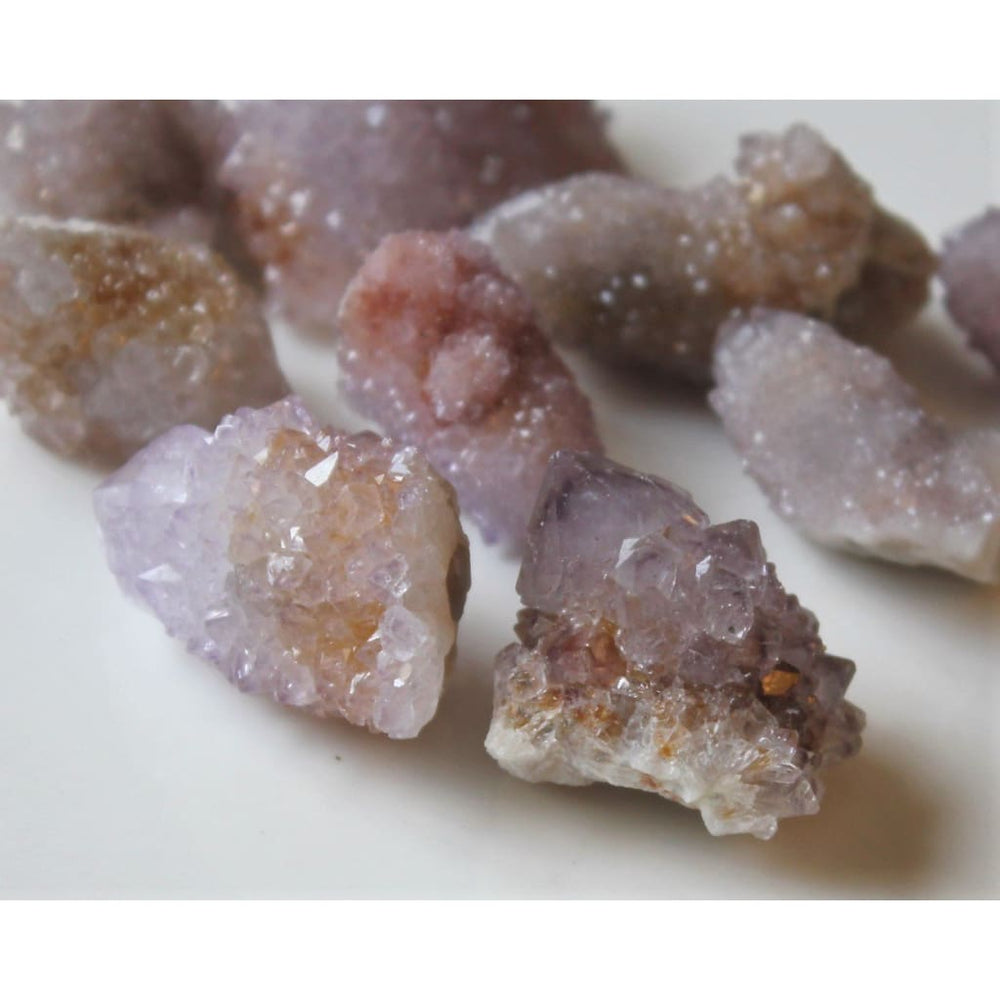 Amethyst Spirit Quartz / Enhance Meditation / Soothing Energy / Alleviate Depression - Natural Crystals