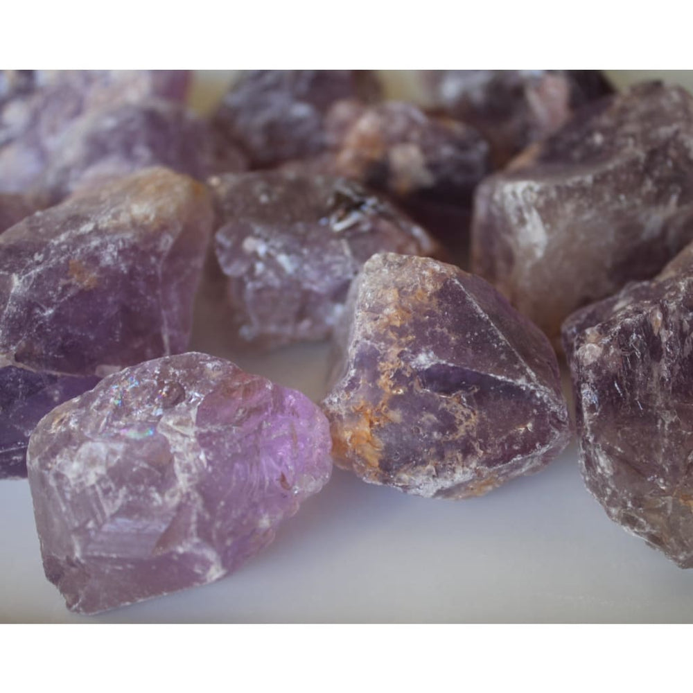 AMETRINE RAW Healing Crystal / Amethyst Citrine mixture - Natural Crystals
