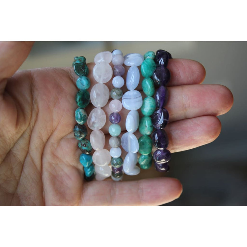 ANXIETY RELIEF BRACELET / Build a 3 Bracelet Stack / Stress Relief / Serenity Peace Balance / Healing Therapy Bracelets
