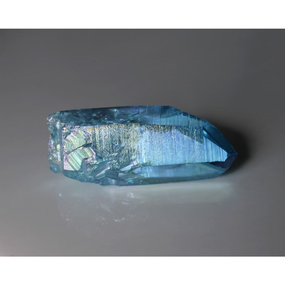 Aqua Aura Quartz Points - Stone of Spiritual Elevation
