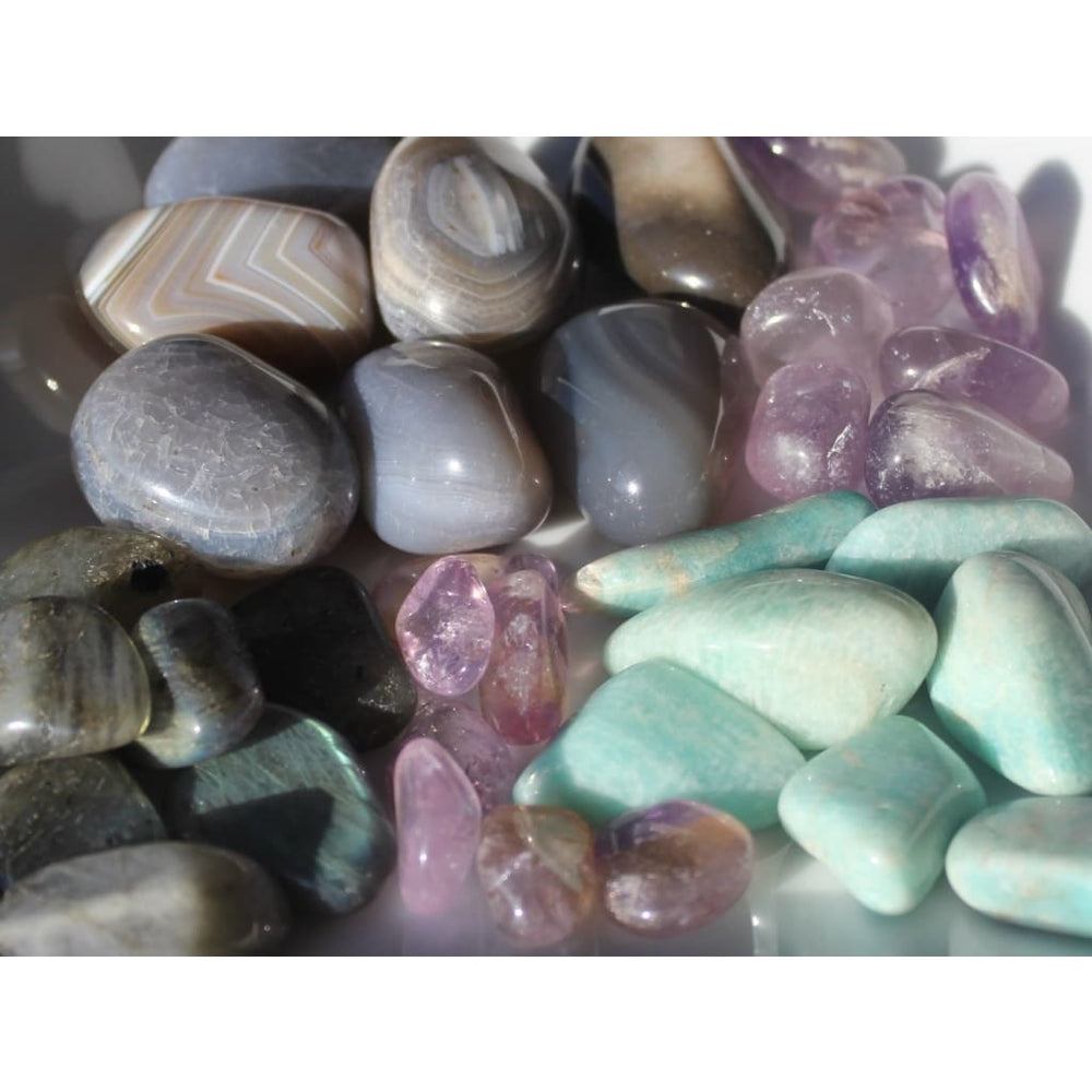 AURA HEALING Crystal Kit / Strengthen your Auric Field / Deflect Negativity / Improve Immune Function - Crystal Healing Kits