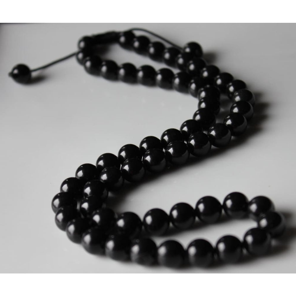 Black Obsidian Necklace / Shield from negativity / Grounding / Protection / Pain relief - Necklaces