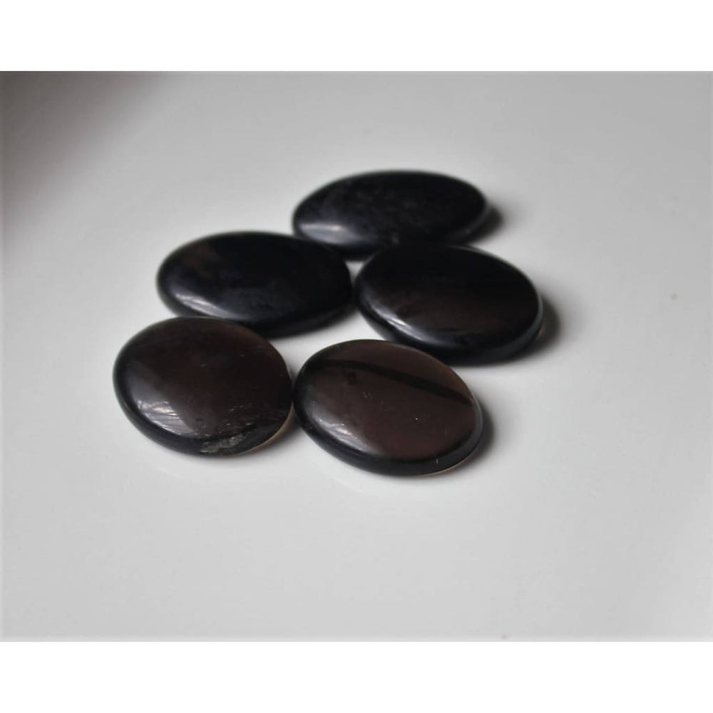 Black Obsidian Worry Stone Pocket Tranquilizer Protection Stone Protection Stone - Energy Tools