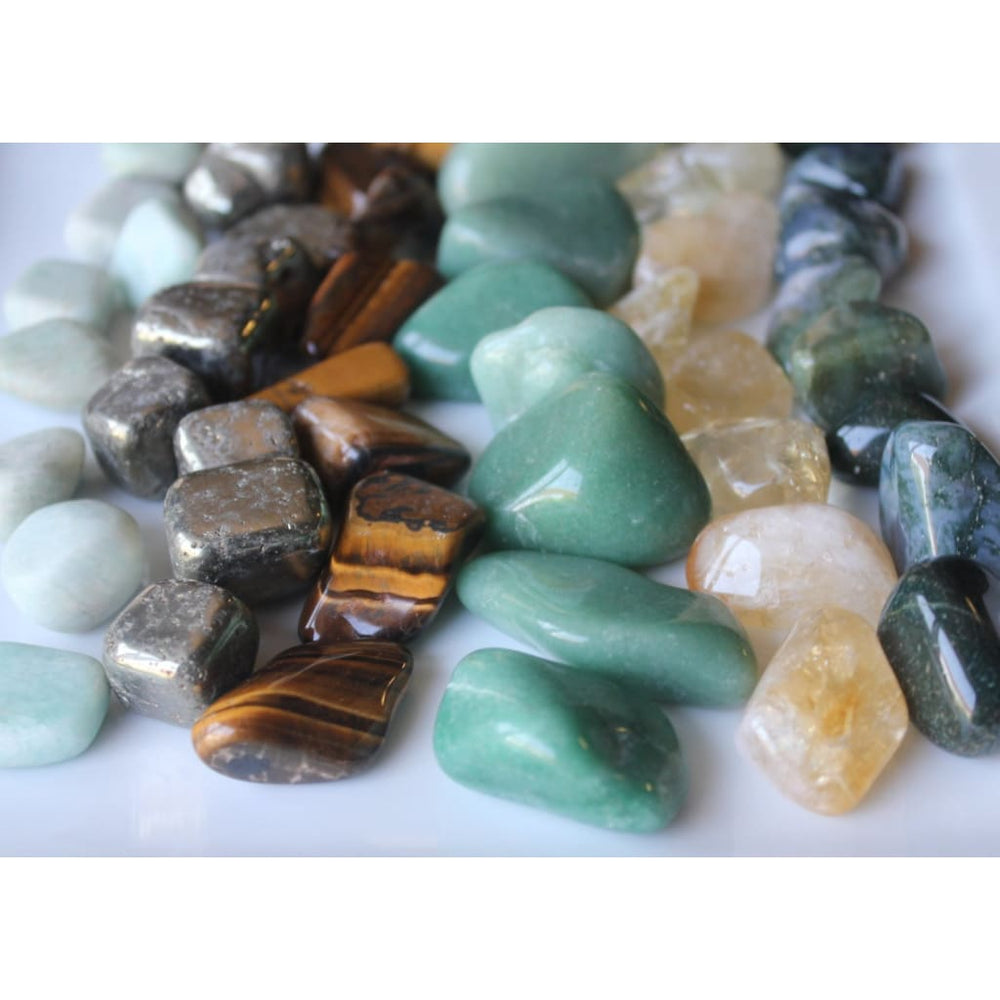 BUSINESS PROSPERITY / Manifesting Money Abundance Healing Crystal Kit - Crystal Healing Kits