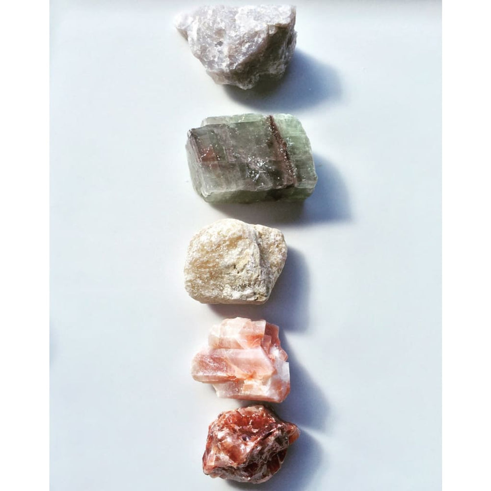 CALCITE HEALING CRYSTAL / Raw Calcite Collection / Gentle Amplification / Cleanse Negativity - Natural Crystals