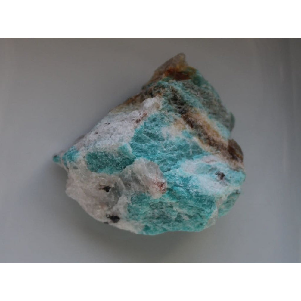 CALMING CRYSTAL Raw Amazonite Chunk Soothing Recovery from emotional trauma Release fears Heart andThroat Chakra Virgo - Natural Crystals