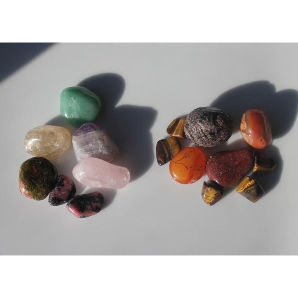 COUPLES FERTILITY Crystals - Deluxe 16 Stone Fertility Booster Mix - Crystal Healing Kits