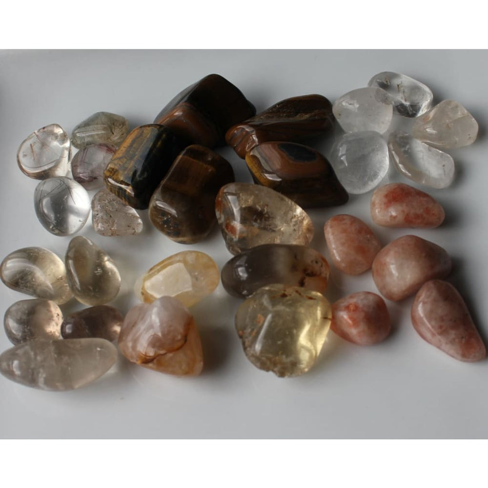 DEPRESSION RELIEF Healing Crystals Mix / Elevate moods / Alleviate Depression / Optimism and Enthusiasm - Crystal Healing Kits