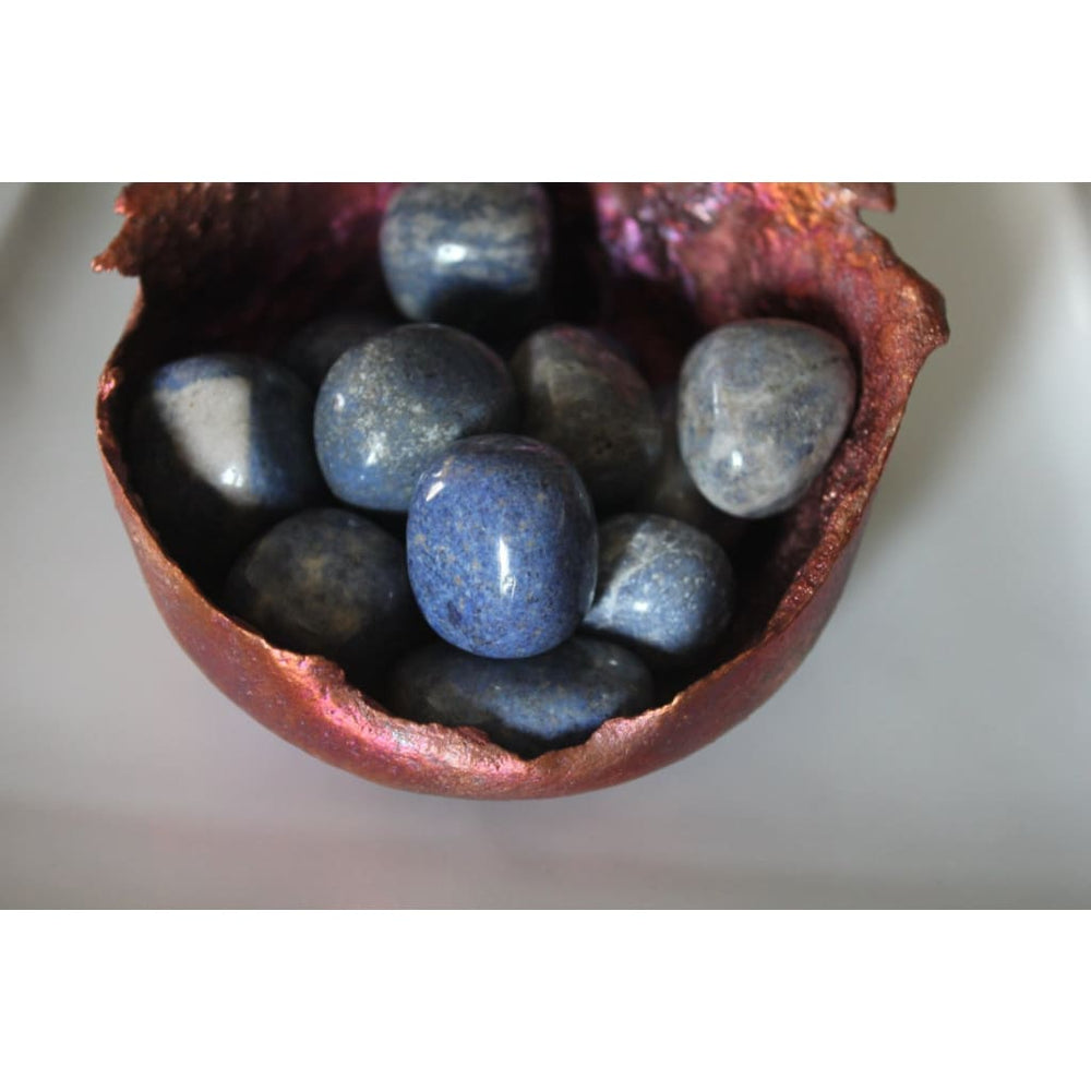 DUMORTIERITE HEALING CRYSTAL / The Stone of Patience / 2 pieces - Polished Stones