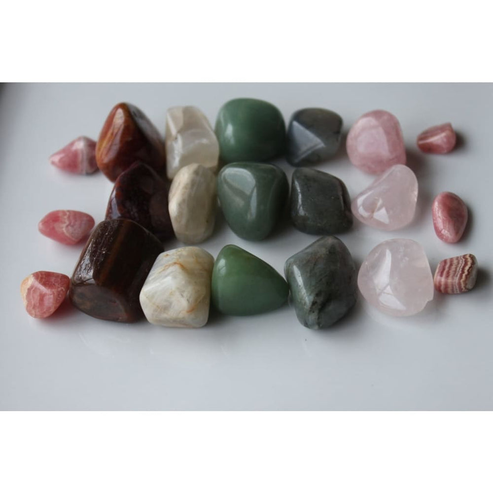HEAL EMOTIONAL WOUNDS / Healing Crystal Set / Release Childhood traumas / Heal from Abuse / Heart Chakra - Crystal Healing Kits