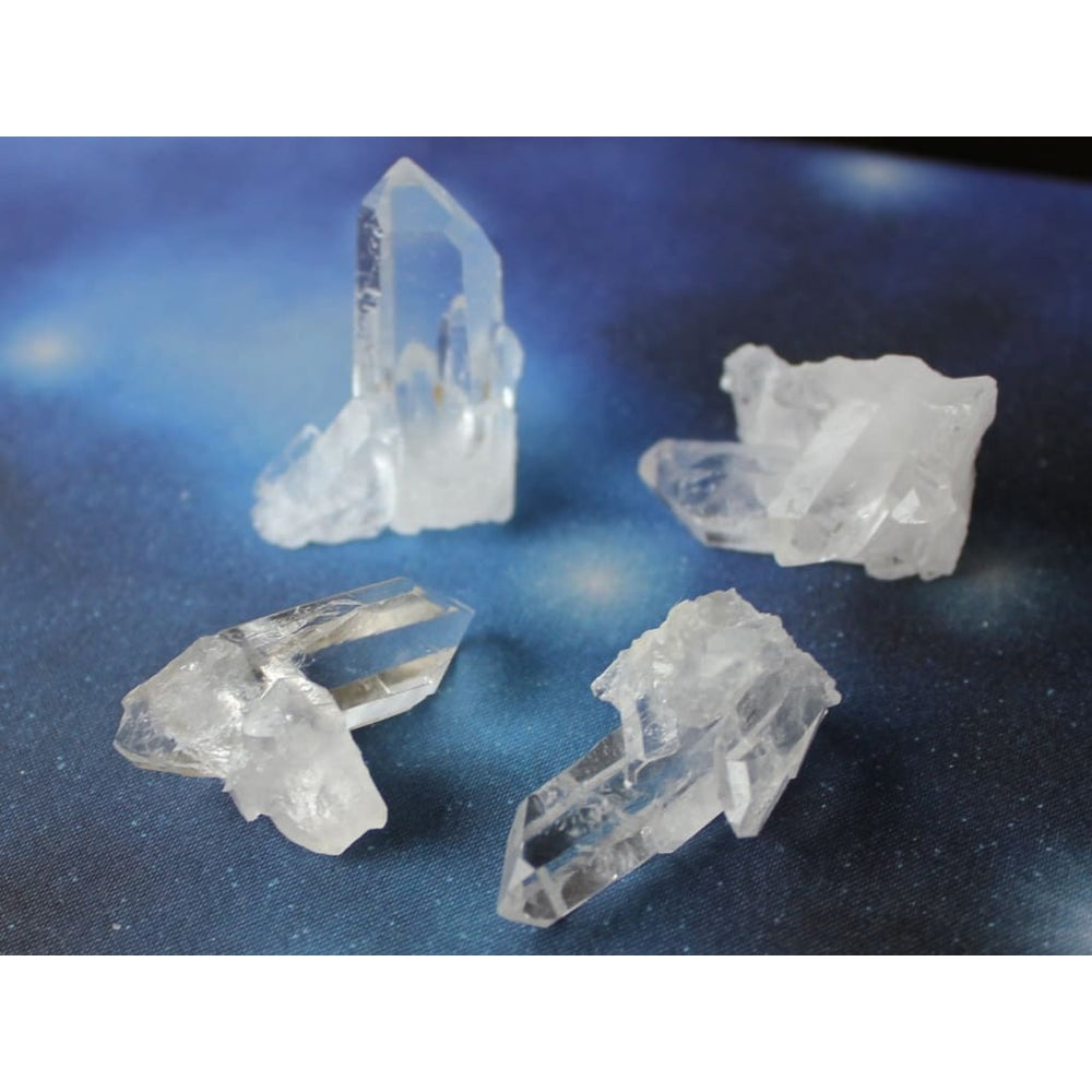 Himalayan Quartz Cluster - Extra Quality / Absorb Negative Energy / Cleanse rooms spaces crystals jewelry - Natural Crystals