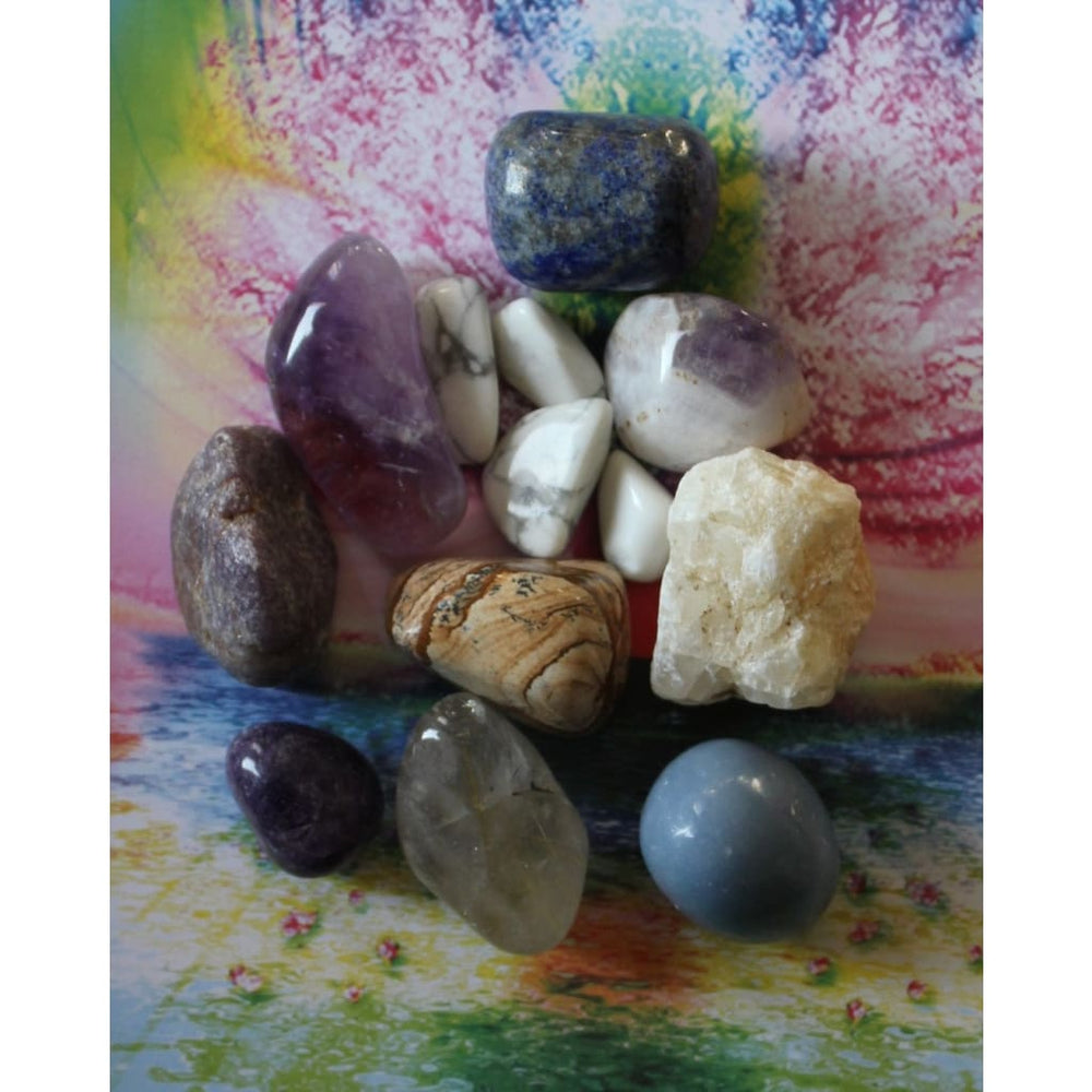 LUCID DREAMS and Astral Travel Healing Crystal Kit / Stimulate Third Eye / OOBE - Crystal Healing Kits