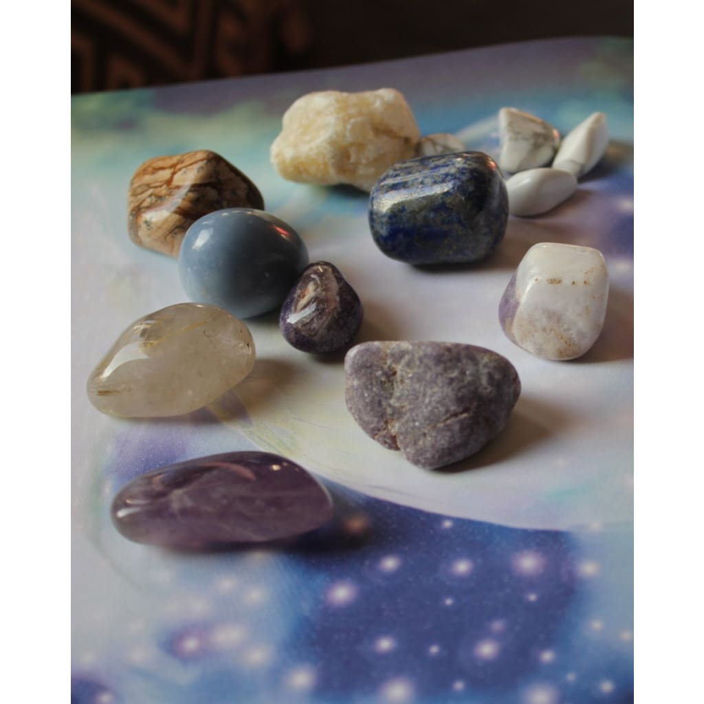 LUCID DREAMS and Astral Travel Healing Crystal Kit / Stimulate Third