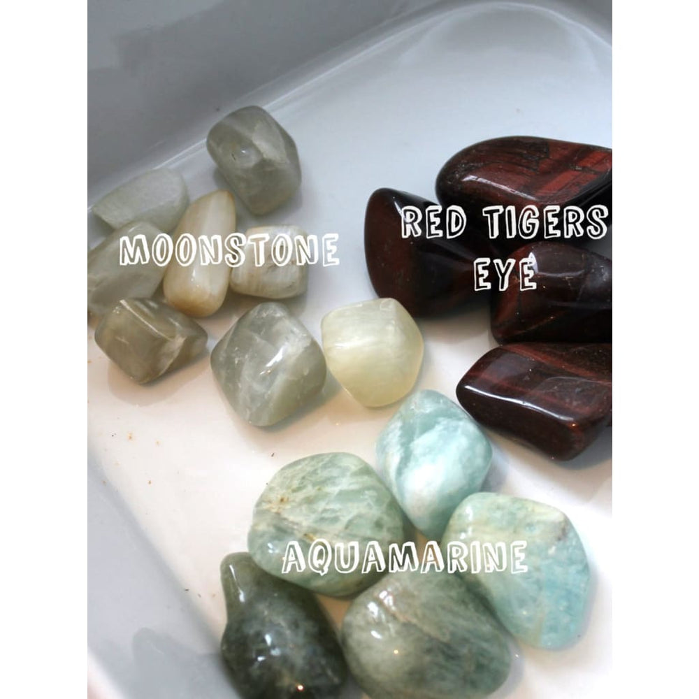 PERFORMANCE ANXIETY Healing Crystal Kit / Confidence in public speaking or performance arts
