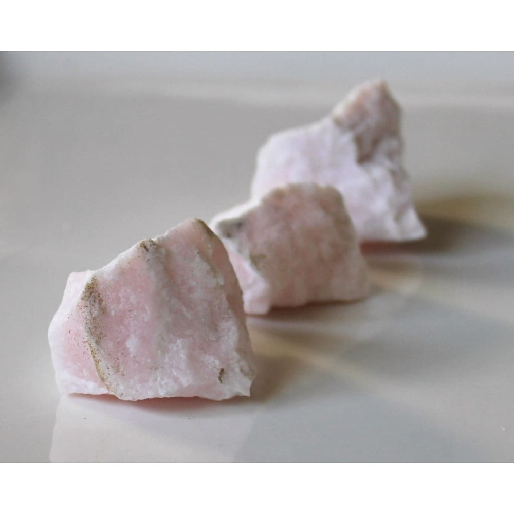 Pink Mangano Calcite / Reiki Stone / Anxiety Relief Crystal / Balance Heart Chakra - Natural Crystals