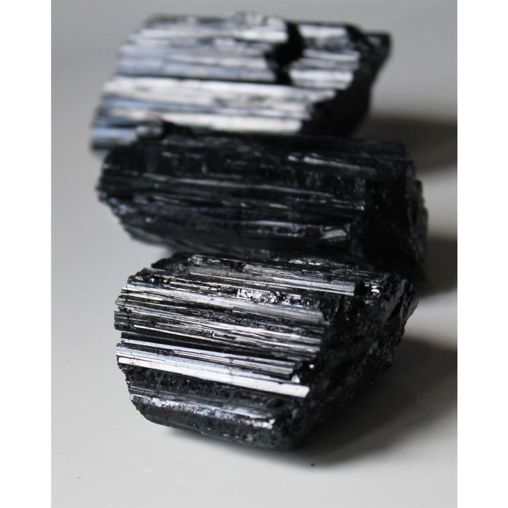 Raw Black Tourmaline Protection crystal Grounding Psychic Shield