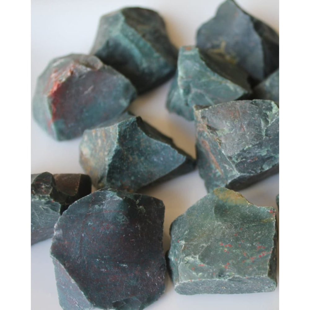 RAW BLOODSTONE CHUNK / Rough Healing Crystal / Blood Cleanser / Revitalizing / Calms the mind - Natural Crystals