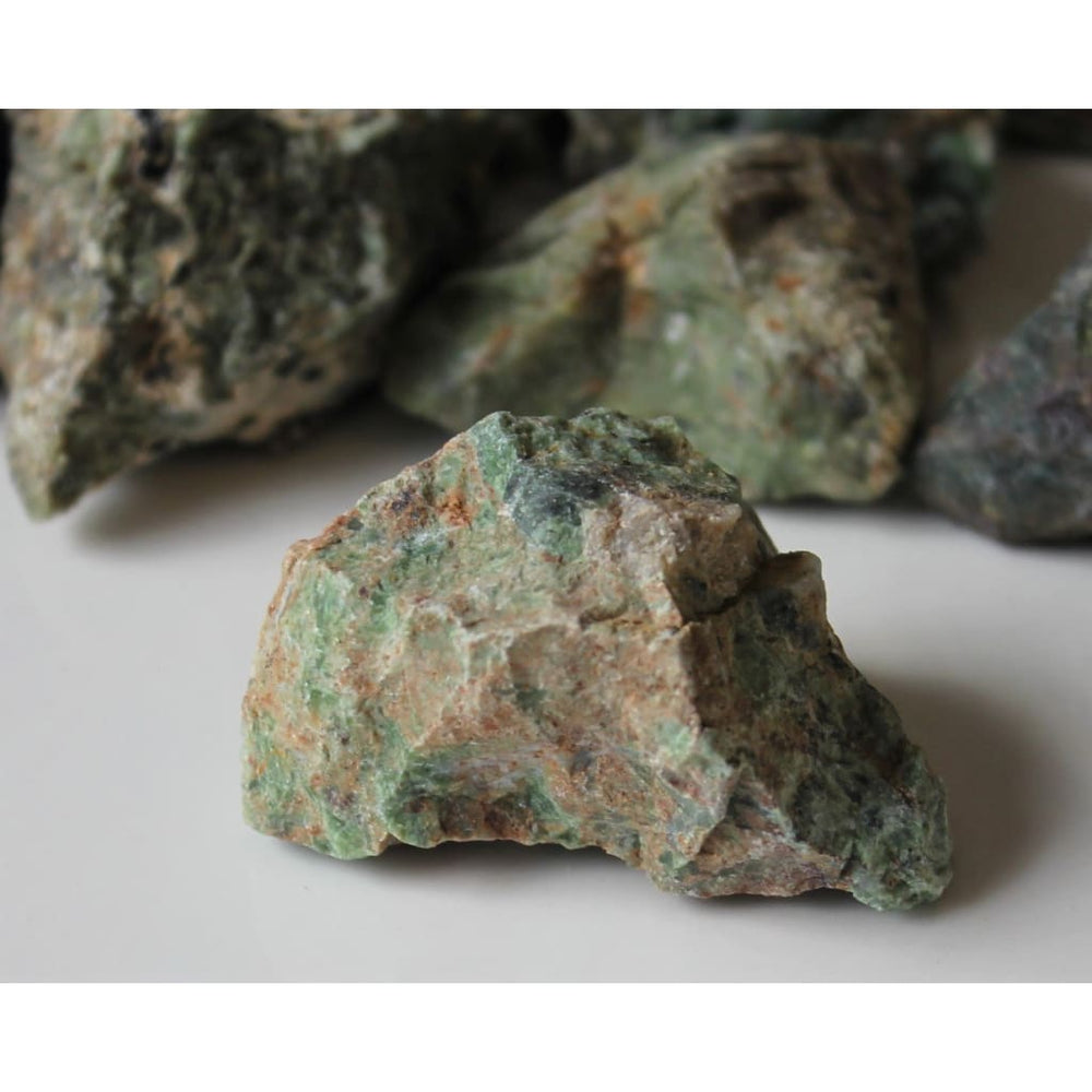 Raw Chrysoprase Chunk / STONE OF GRACE / Promotes love courage fidelity / Heal Relationships / Transmute Negativity - Natural Crystals