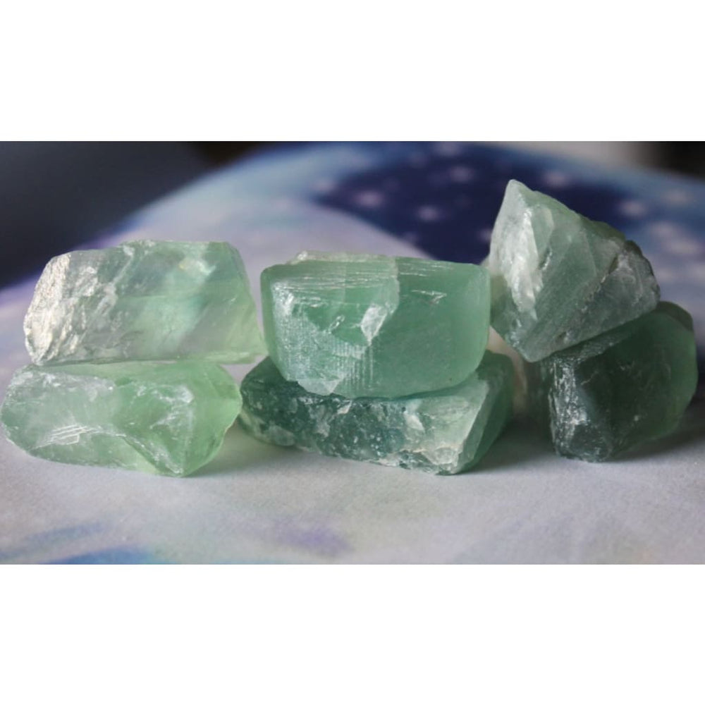 Raw Fluorite slices / All-purpose healer / Stabilize and Cleanse your aura / Boost positivity - Natural Crystals