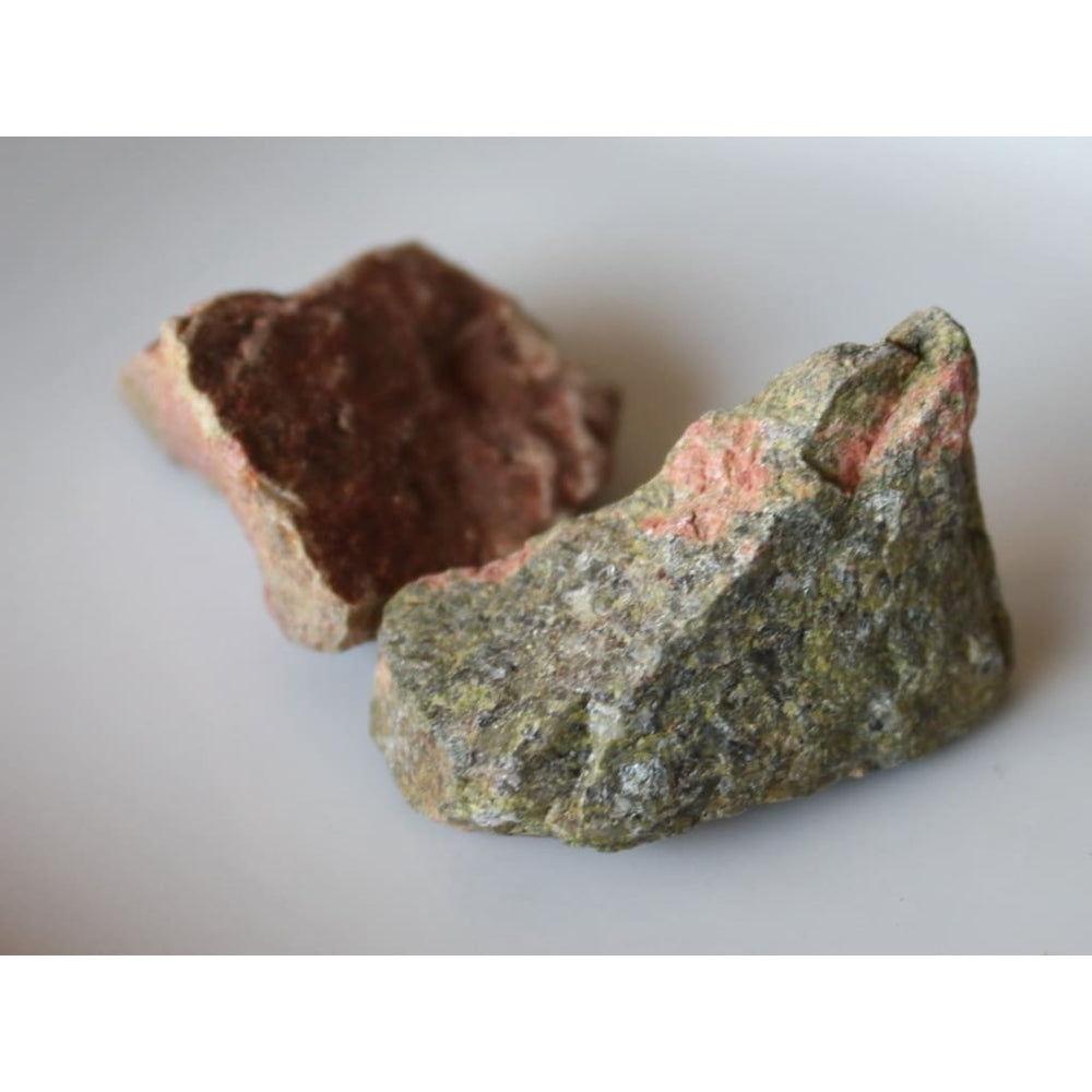 Raw Unakite Chunk / Live in the present / Heart Chakra / Scorpio / Fertility / Healthy Pregnancy - Natural Crystals