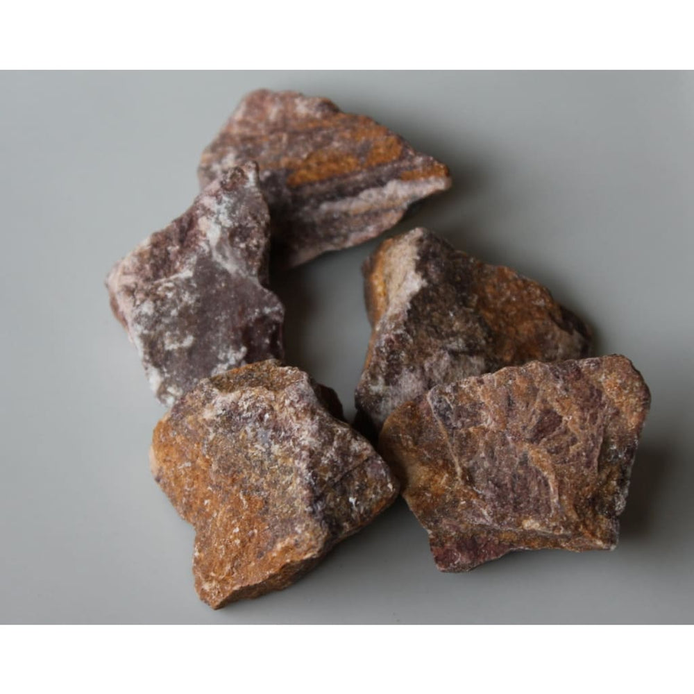 Red Calcite Chunk / Energizing / Detoxifying / Reduce fears / Encourages healthy sexuality / Grounding / Vitality - Natural Crystals
