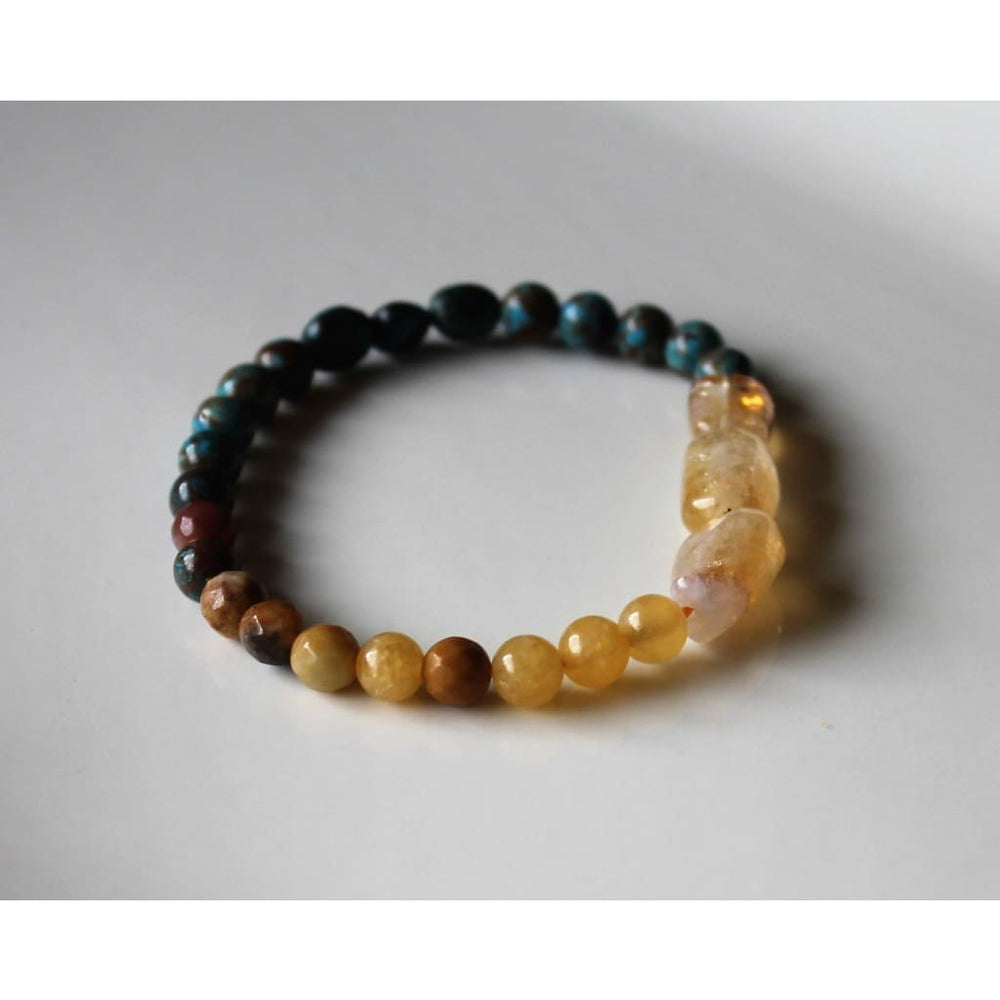 Revitalizing Bracelet Healing Crystal Bracelet Stretch Stackable Gemstone Bracelet Crystal Intention Bracelet - Bracelets
