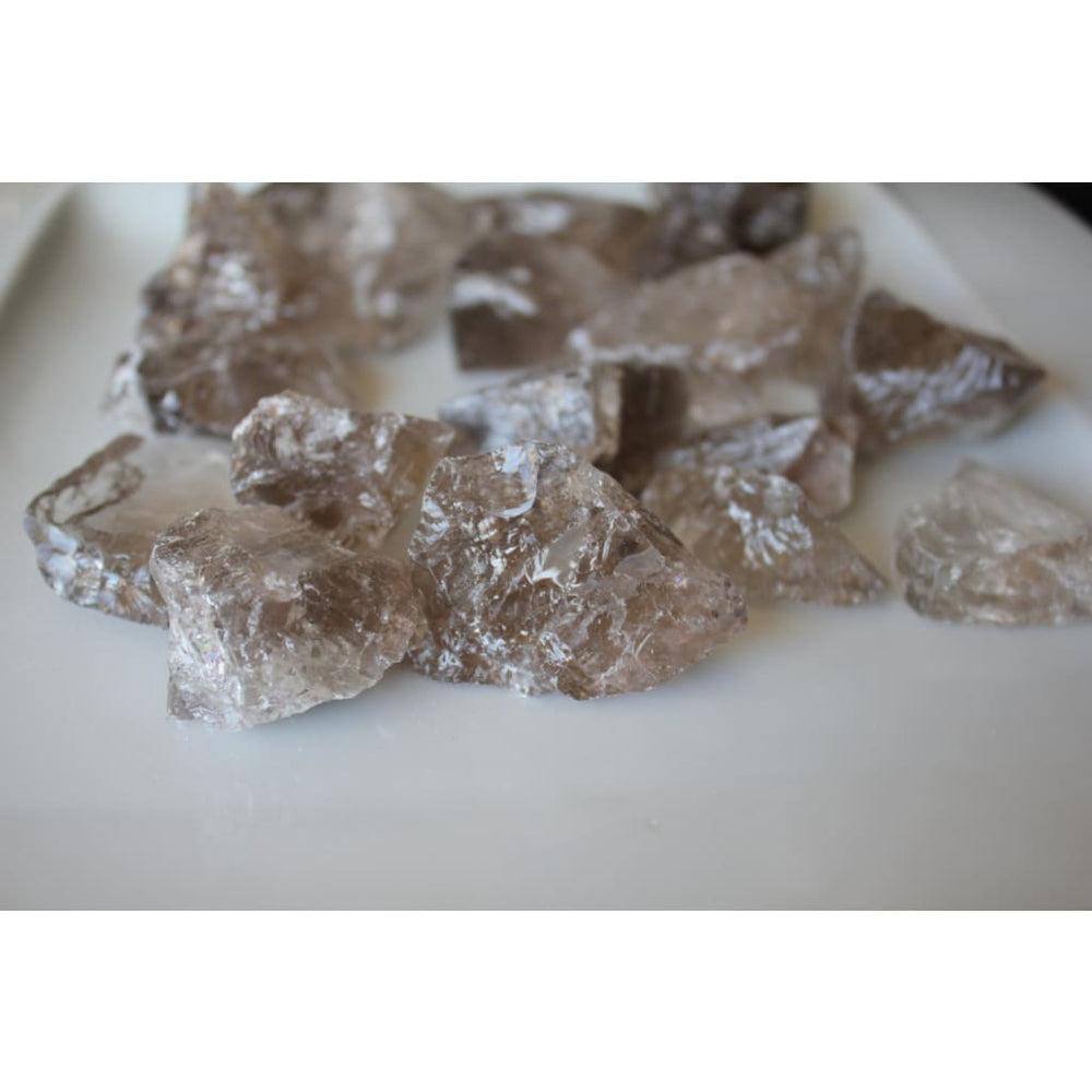 Smoky Quartz Chunk / Grounds and Protects / Absorbs negative energy / Pain Relief - Natural Crystals