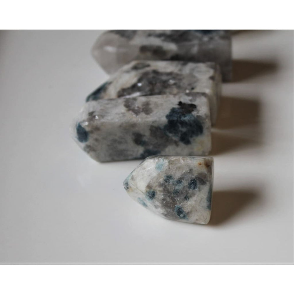 Snowball Euphoralite Tower Hand polished crystal tower - Polished Stones
