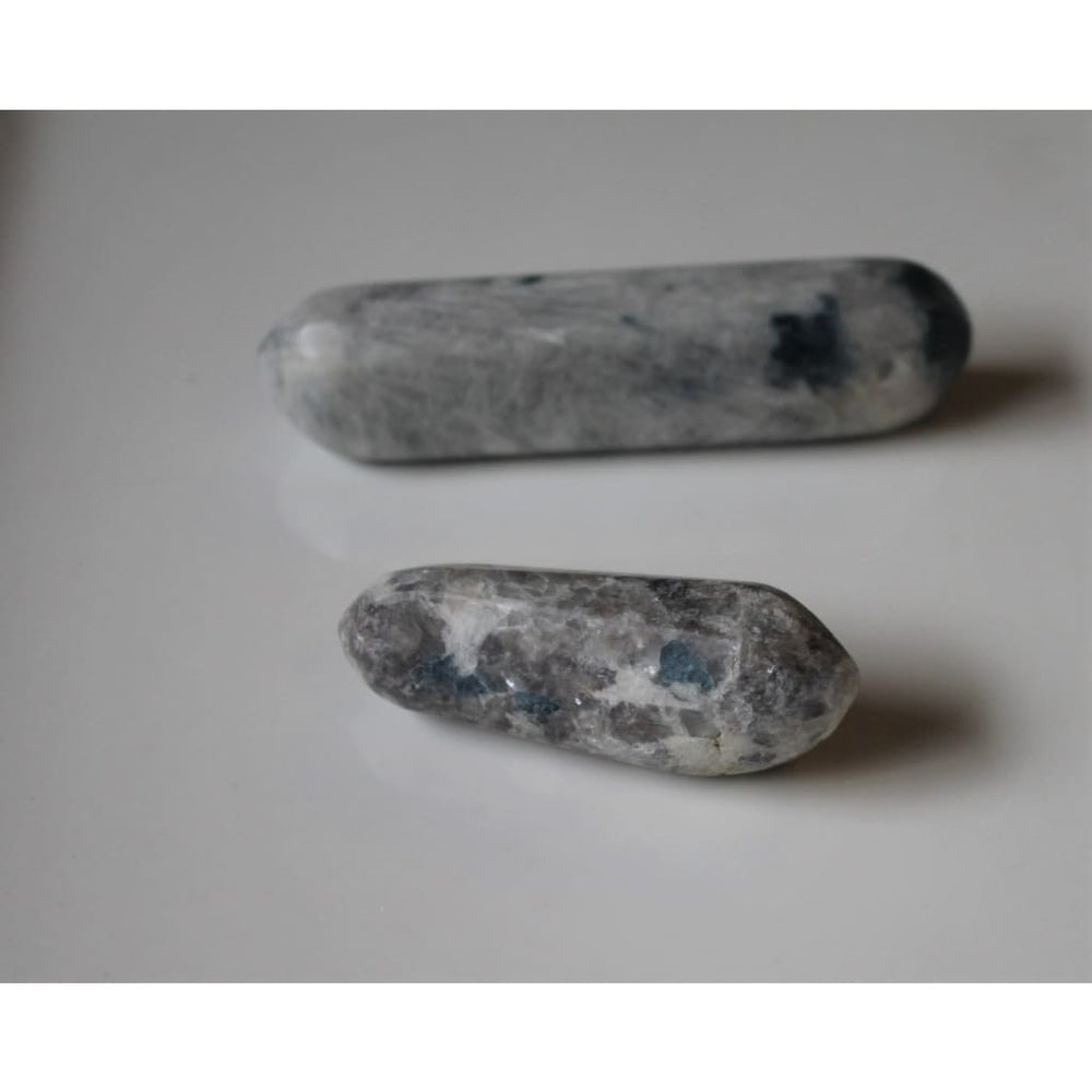 Snowball Euphoralite Wand Hand polished crystal wand Polished Euphoralite - Polished Stones