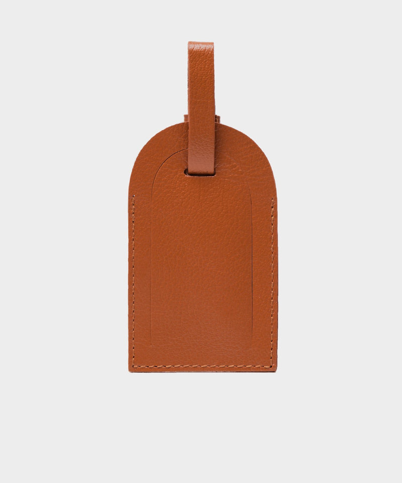 Ettinger Capra Luggage Tag in Tan