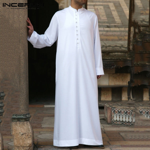 Men Jubba Thobe Long Sleeve