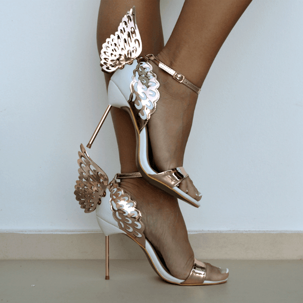 Angel Gold Wings Sandals