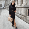 Cristian Black Overcoat Dress