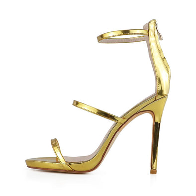 Oro Gold Sandals