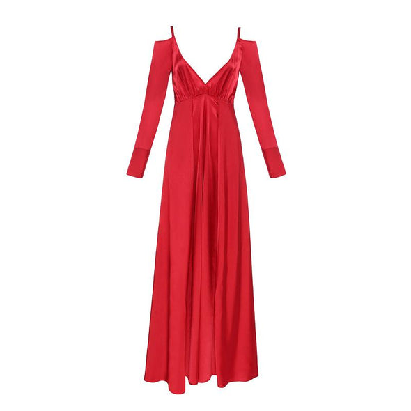 Hadley Red Maxi Dress