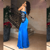 Kierea Blue Maxi Dress